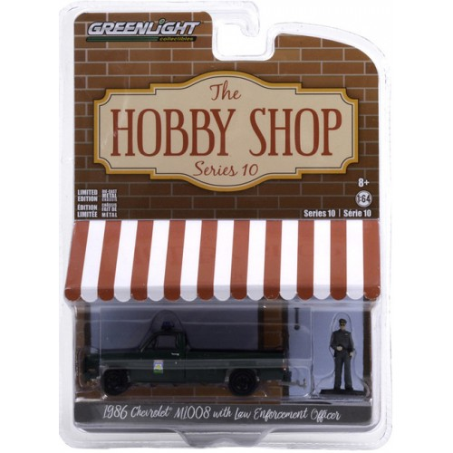 Greenlight The Hobby Shop Series 10 - 1986 Chevrolet M1008 Truck