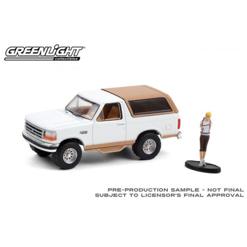 Greenlight The Hobby Shop Series 10 - 1996 Ford Bronco Eddie Bauer