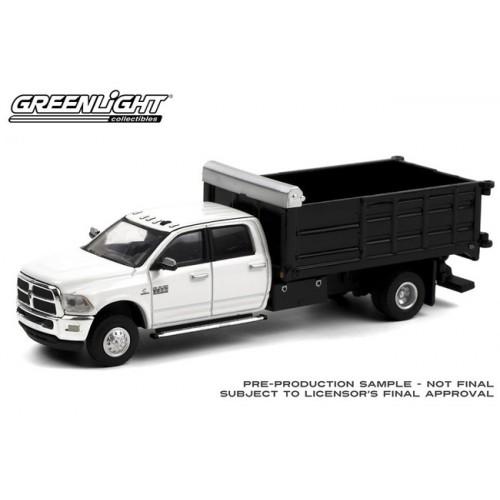 Greenlight Dually Drivers Series 6 - 2018 RAM 3500 Dually Landscaper Dump Truck