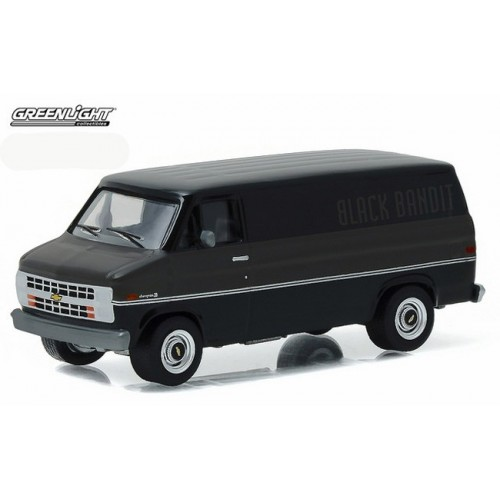 Black Bandit Series 16 - 1986 Chevy G20 Van