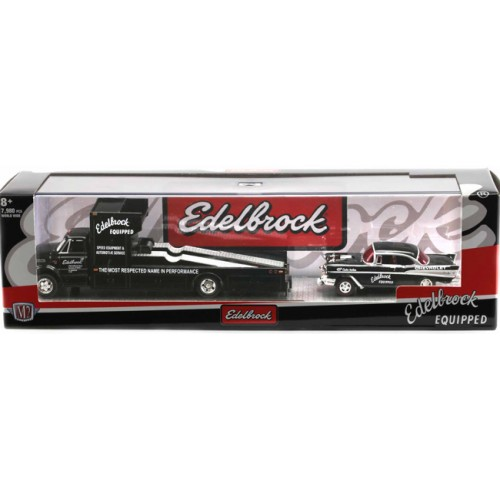 M2 Machines Auto-Haulers Release 42 - 1967 Chevy C-60 Ramp Truck with 1957 Chevy Bel Air Gasser