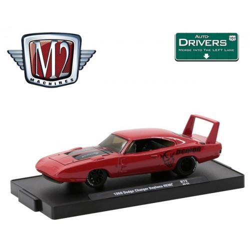 M2 Machines Drivers Release 72 - 1969 Dodge Daytona Charger
