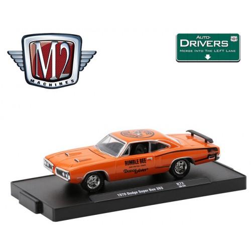 M2 Machines Drivers Release 72 - 1970 Dodge Super Bee 383