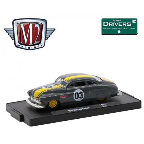 M2 Machines Drivers Release 72 - 1949 Mercury Custom