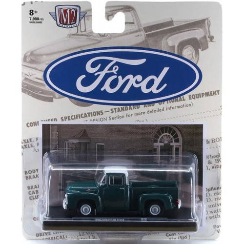 M2 Machines Drivers Release 72 - 1956 Ford F-100 Truck