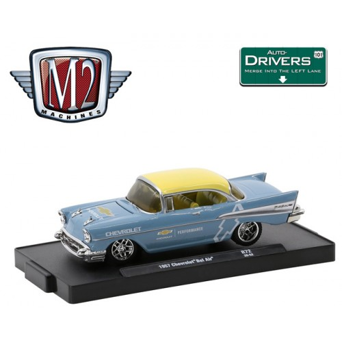 M2 Machines Drivers Release 72 - 1957 Chevrolet Bel Air
