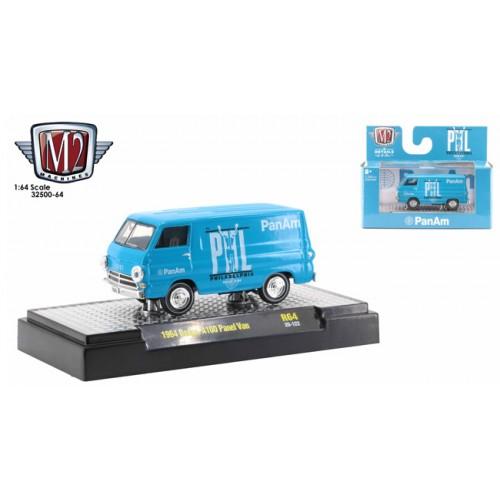M2 Machines Auto-Thentics Release 64 - 1964 Dodge A-100 Panel Van