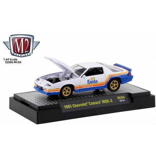 M2 Machines Coca-Cola Race Cars Release 4 - 1985 Chevrolet Camaro IROC-Z