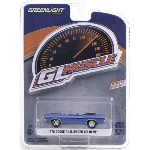 Greenlight GL Muscle Series 24 - 1970 Dodge Challenger Convertible