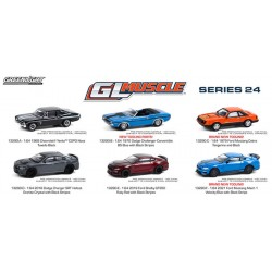 Greenlight GL Muscle Series 24 - Six Car Set