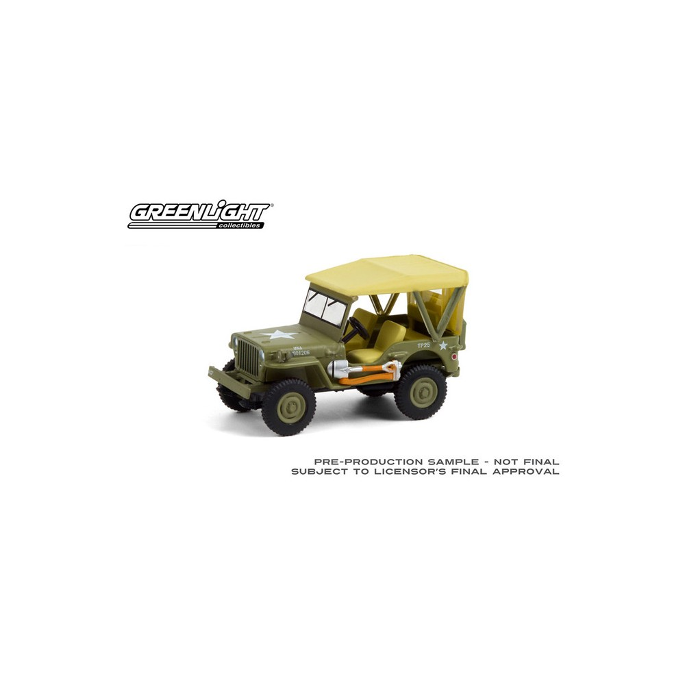 Greenlight Anniversary Collection Series 12 -1940 Willys MB Jeep