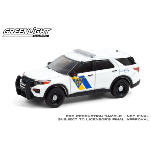 Greenlight Anniversary Collection Series 12 - 2021 Ford Police Interceptor Utility - New Jersey State Police