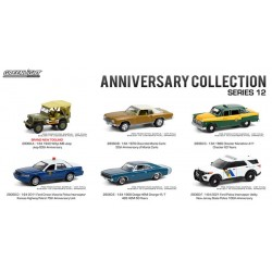 Greenlight Anniversary Collection Series 12 - Six Car Set