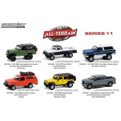 Greenlight All-Terrain Series 11 - Six Truck Set