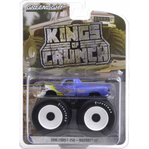 Greenlight Kings of Crunch Series 9 - 1996 Ford F-250 Monster Truck Bigfoot 7
