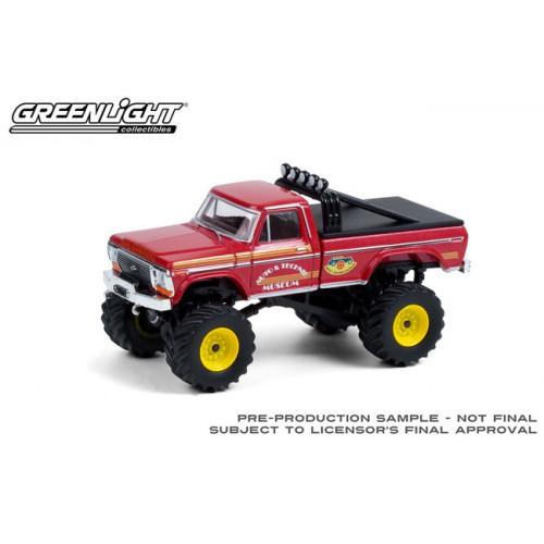 Greenlight Kings of Crunch Series 9 - 1979 Ford F-250 Monster Truck Super Monster