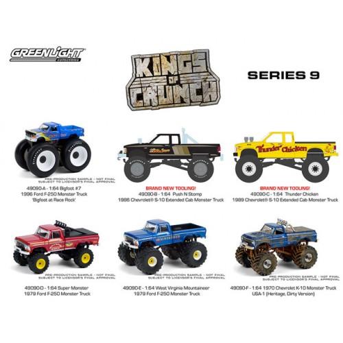 Greenlight Kings of Crunch Series 9 - Six Truck Set