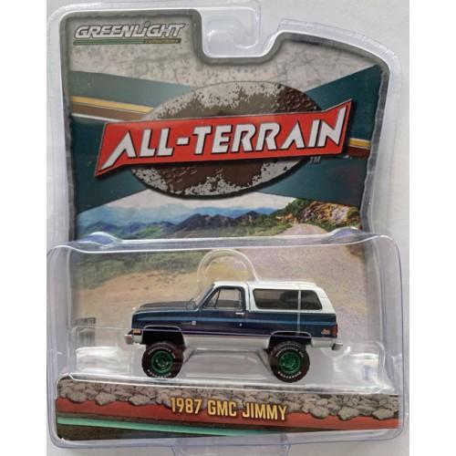 Greenlight All-Terrain Series 11 - 1987 GMC Jimmy Green Machine Chase Version