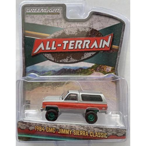 Greenlight All-Terrain Series 10 - 1984 GMC Jimmy Green Machine Chase Version