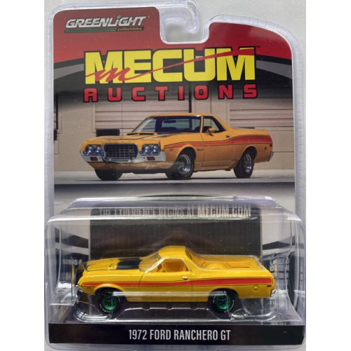 Greenlight Mecum Auctions Series 4 - 1972 Ford Ranchero GT Green Machine Version Chase