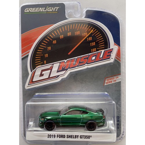 Greenlight GL Muscle Series 24 - 2019 Ford Shelby GT350 Green Machine Chase Version