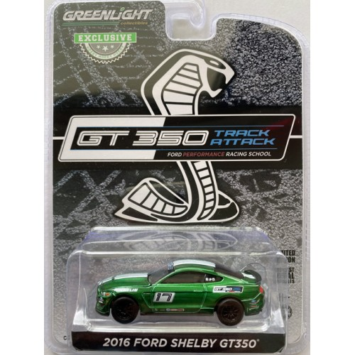 Greenlight Hobby Exclusive - 2016 Ford Mustang Shelby GT350 Green Machine Chase Version