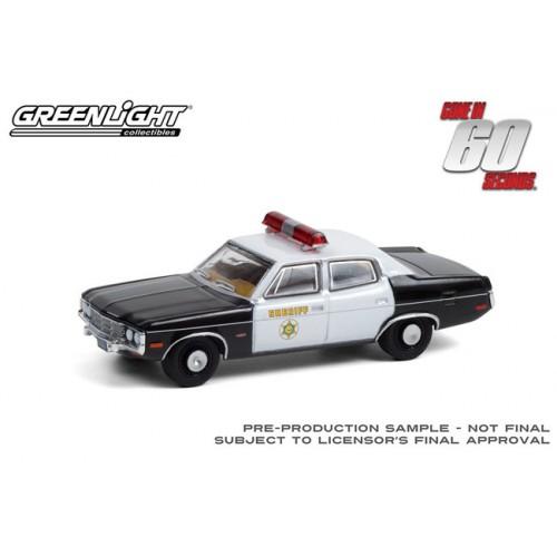 Greenlight Hollywood Series 31 - 1973 AMC Matador Los Angeles County Sheriff