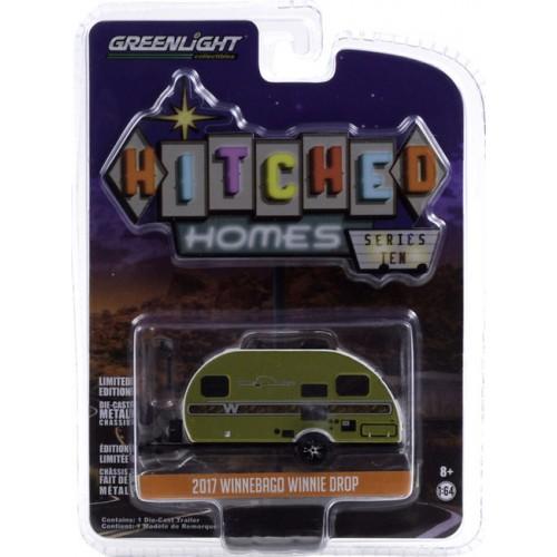 Greenlight Hitched Homes Series 10 - 2017 Winnebago Winnie Drop