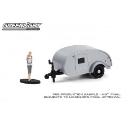 Greenlight Hitched Homes Series 10 - Teardrop Camper Trailer