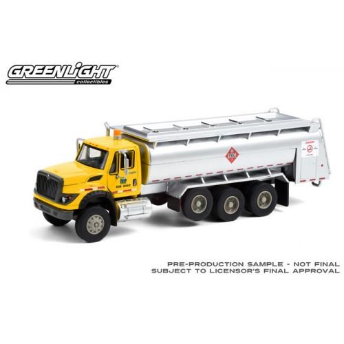 Greenlight S.D. Trucks Series 12 - 2018 International WorkStar Tanker Truck