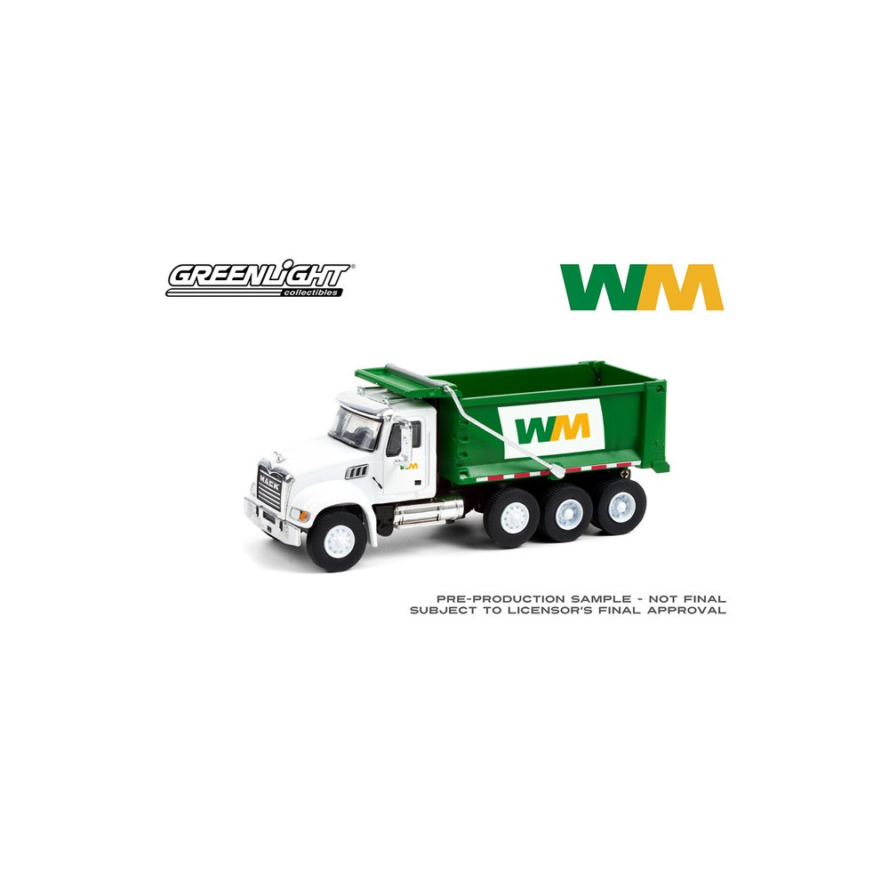 Greenlight S.D. Trucks Series 12 - 2020 Mack Granite Dump Truck