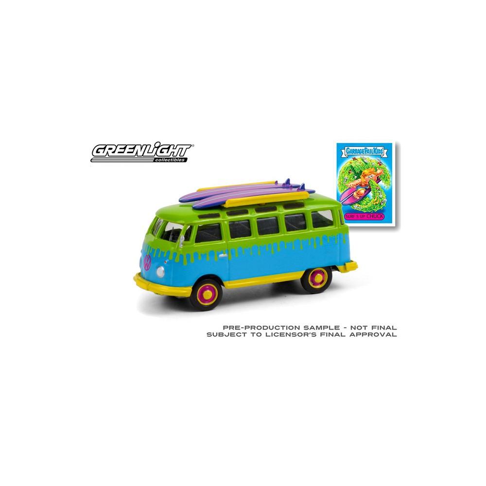 Greenlight Garbage Pail Kids Series 3 - 1964 Volkswagen Samba Bus with Surfboards