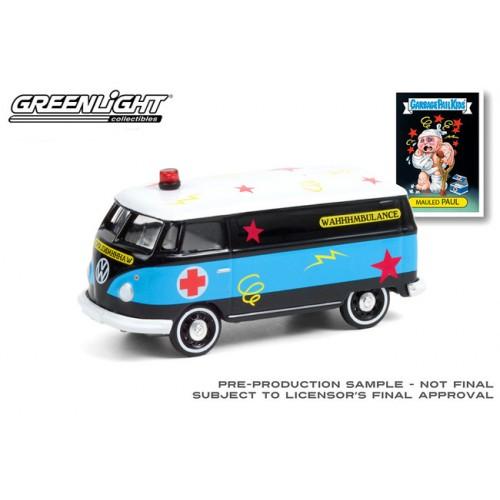 Greenlight Garbage Pail Kids Series 3 - 1965 Volkswagen Panel Van Ambulance