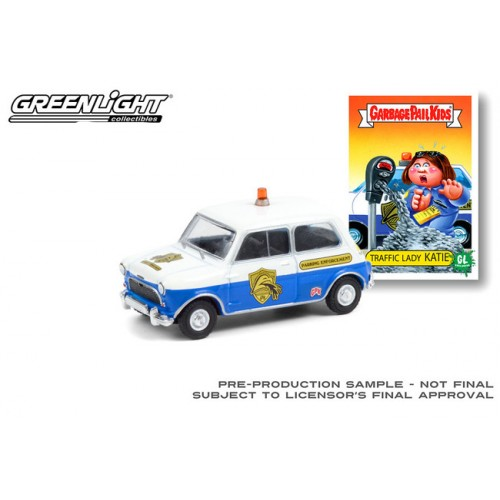 Greenlight Garbage Pail Kids Series 3 - 1962 Austin Mini Cooper MKI