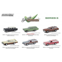 Greenlight Estate Wagons Series 6 - Six Car Set