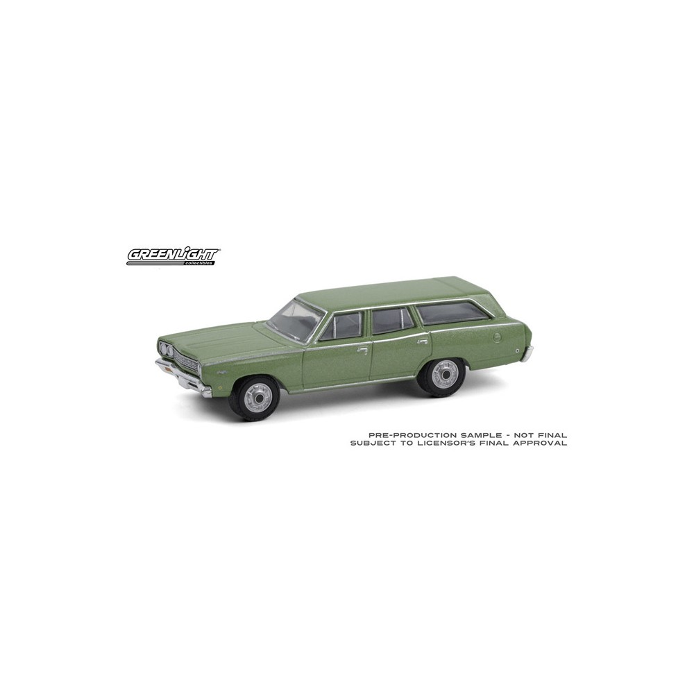 Greenlight Estate Wagons Series 6 - 1968 Plymouth Satellite Station Wagon