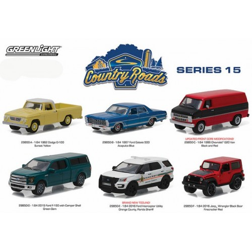 Country Roads Series 15 - SET