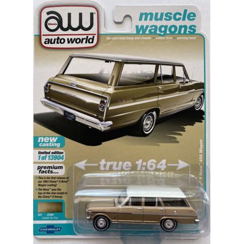 Auto World Premium 2021 Release 2A - 1963 Chevy II Nova 400 Wagon