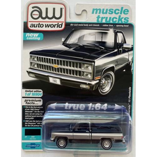 Auto World Premium 2021 Release 2A - 1982 Chevy Silverado 10 Fleetside