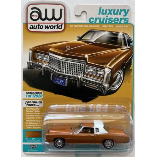 Auto World Premium 2021 Release 2A - 1975 Cadillac Eldorado
