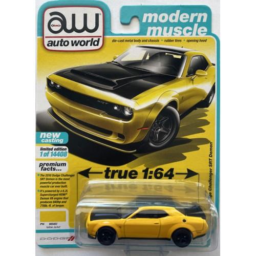 Auto World Premium 2021 Release 2B - 2018 Dodge Challenger SRT Demon