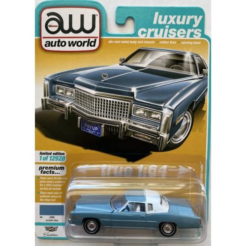Auto World Premium 2021 Release 2B - 1975 Cadillac Eldorado