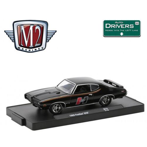 M2 Machines Drivers Release 74 - 1969 Pontiac GTO