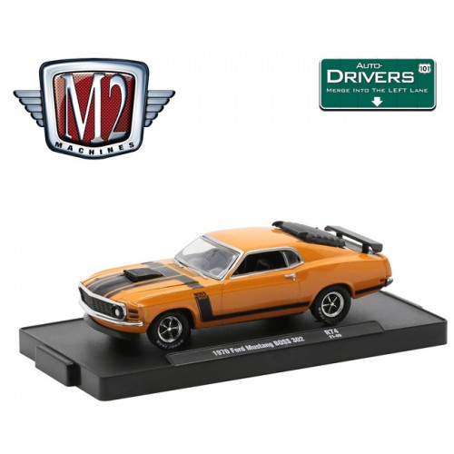 M2 Machines Drivers Release 74 - 1970 Ford Mustang Boss 302