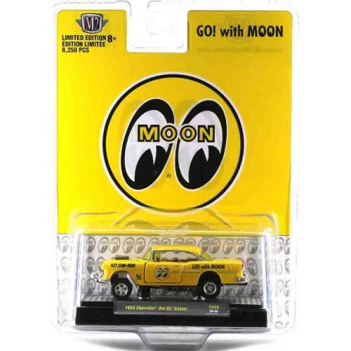 M2 Machines Hobby Exclusive - 1955 Chevrolet Bel Air Gasser Mooneyes