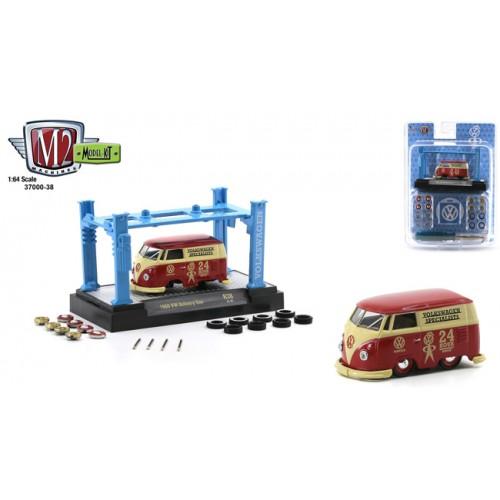M2 Machines Model-Kits Release 38 - 1960 Volkswagen Delivery Van Shorty