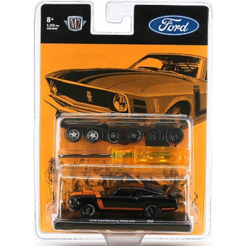 M2 Machines Auto-Wheels Release 8 - 1970 Ford Mustang BOSS 302