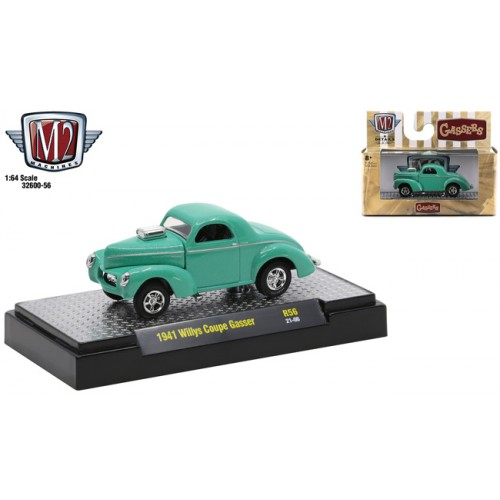 M2 Machines Detroit Muscle Release 56 - 1941 Willys Coupe