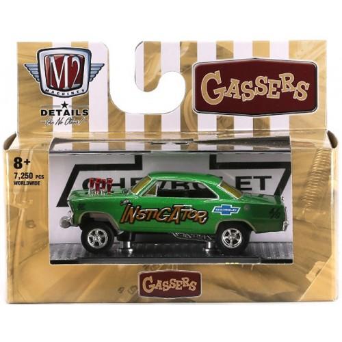 M2 Machines Auto-Thentics Release 65 - 1967 Chevrolet Nova Gasser