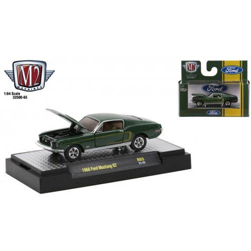 M2 Machines Auto-Thentics Release 65 - 1968 Ford Mustang GT